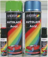 Motip dažai pagal automobilio spalvos kodą